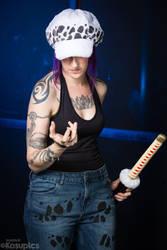 Trafalgar Law cosplay genderbent by PyodeKantra