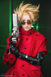 Vash the Stampede by Kosupics by PyodeKantra