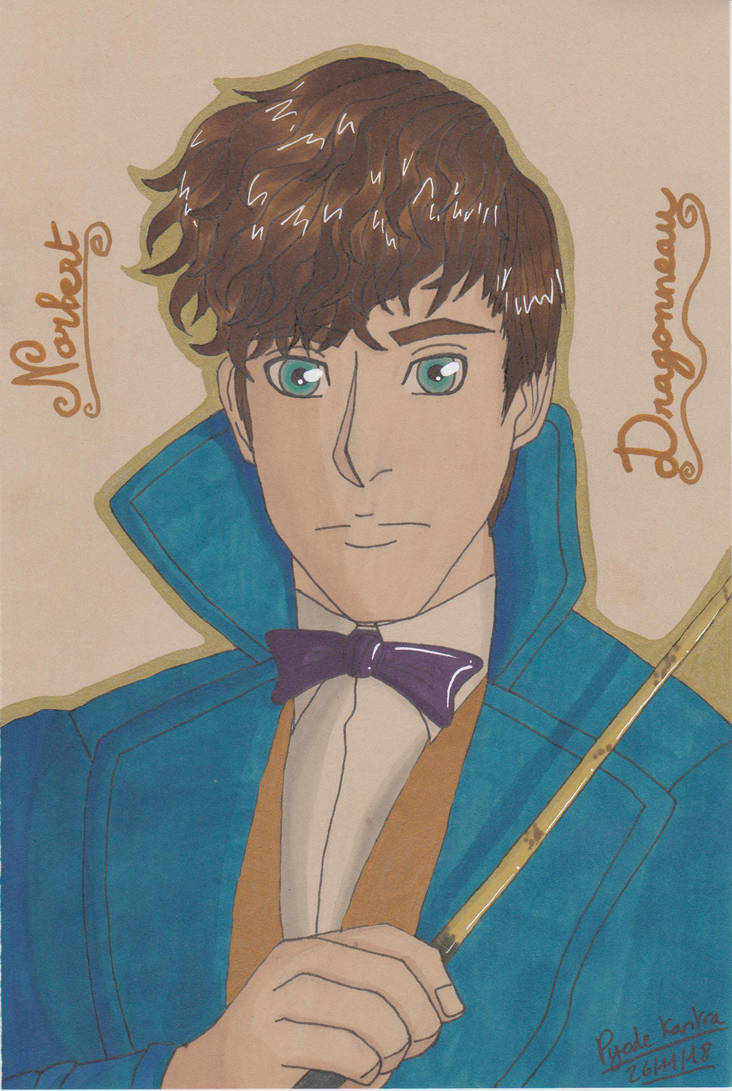 Christmas Gift-Newt Scamander by PyodeKantra
