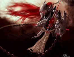 reaper fencer by ShinoShoe26