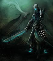 deepsea swordsman by ShinoShoe26