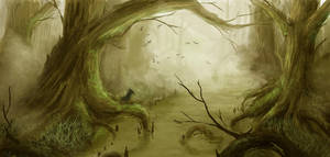 Swamp Speed Paint by ShinoShoe26