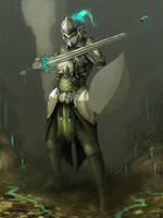 magic knight (not finished) by ShinoShoe26
