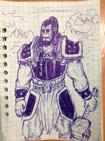 Thrall, the leader of the Horde by ImmortalTartal