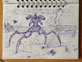 Ugh-Zan IV, Guardian of Time by ImmortalTartal