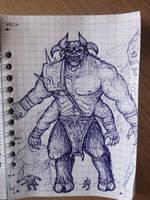 Ugh-Zan III + a little bit of my imagination by ImmortalTartal