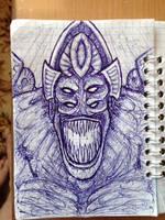 Ugh-Zan IV - my vision by ImmortalTartal