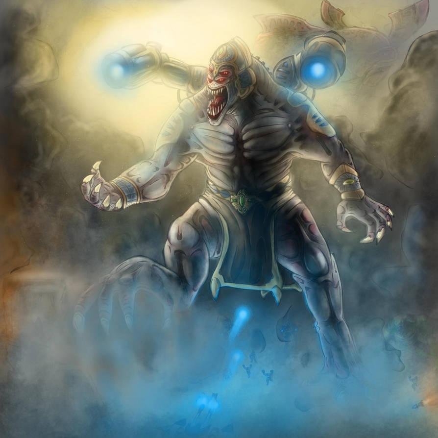Ugh-Zan IV - 'Battle for Alpha Centauri' by ImmortalTartal