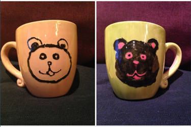 Bear Mugs from New Trials by AmethystBeloved