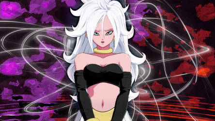 Android 21 Dragon Ball FighterZ by bodskih