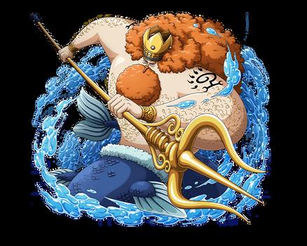 King Neptune of Ryugu Kingdom by bodskih