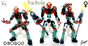 Brolas, Toa of Copper by Lol-Pretzel