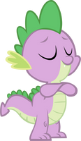 Simply Satisfied Spike by Reginault