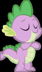Simply Satisfied Spike by Reginault