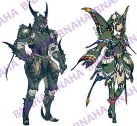 Butterfly Armor by Bnaha