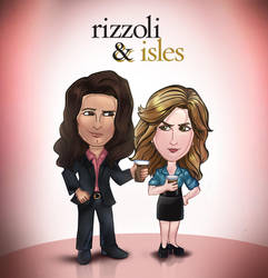 Rizzoli and Isles by AndreeDeJardjais