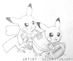 Pikabowl (sketch) by colormymemory