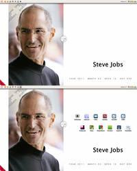 Desktop of Steve Jobs by ATiGr