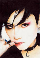 Toshiya - Colorpencils by Kindoffreak