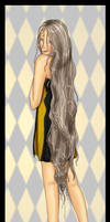 Rapunzel, Let Down Your Hair by Jullelin