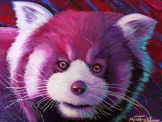 Red Panda by machine-guts