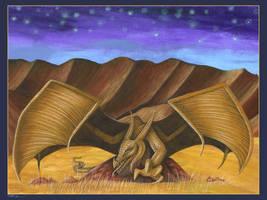 Mountain Thoklok painting by machine-guts