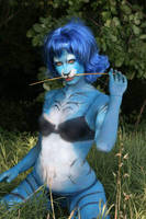 Hello blue kitty by vmax74
