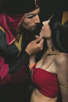 Jafar Jasmine slave Cosplay by LadyliliCosplay