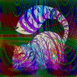 Cheshire Cat by aciddmaus23
