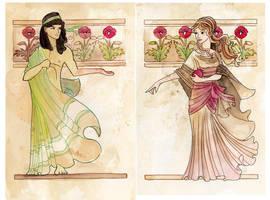 Hades and Persphone by dancingheron