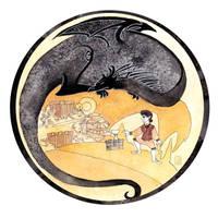 The Dragon and the Burglar by dancingheron
