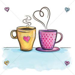 HOT Coffee Love by eikasma