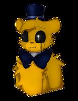 What's a sad golden bear by SoundwavePie