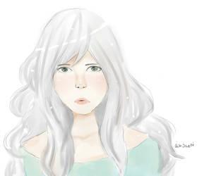 anime OC by AshSaeki
