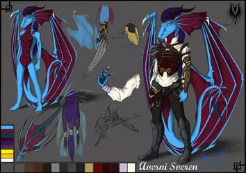 Averni Sveren :Ref 2013 by DragonGirl787