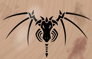 Black Dragon Symbol by RealBigNUKE