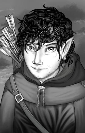 Elven Archer by RealBigNUKE