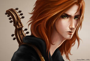 Kvothe - Kingkiller by Xledia
