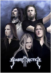 Sonata Arctica poster by MayYeo