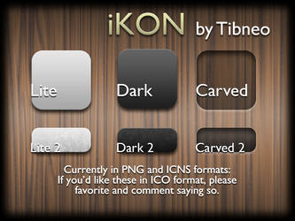 iKon - The Massive Icon Pack by Tibneo