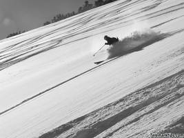 Utah Wasatch BC Skiing by mrfox