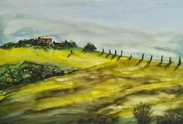 Tuscany by amothep
