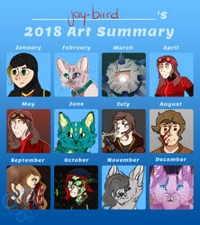 2018 Summary Of Art by jay-biird