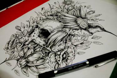 Hummingbird ::SOLD::: by EG-TheFreak