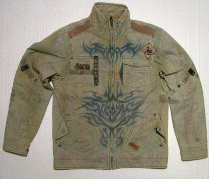 tribal jacket design by milanglo