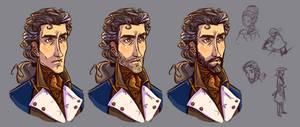 Character development sketch - Reveille by Sleyf