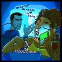 Blabber Blabber Blah Blah by Sleyf