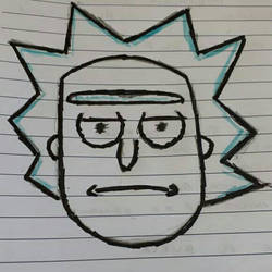 Rick is not amused by dsilv3r