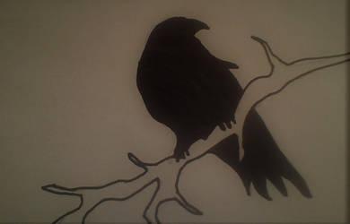 Bird of sorrow by dsilv3r