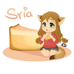 Stray Cats Chibis: Sria by Cera-Miaw